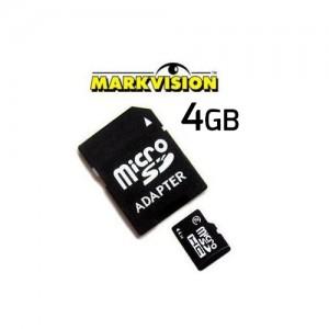 MEMORIA MICRO SD 4 GB