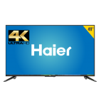 "TV HAIER 49"" 4K ROKU SMART TV"